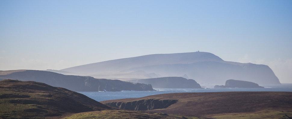 Burra Sumburgh Shetland sea