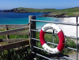 Summer days in Shetland