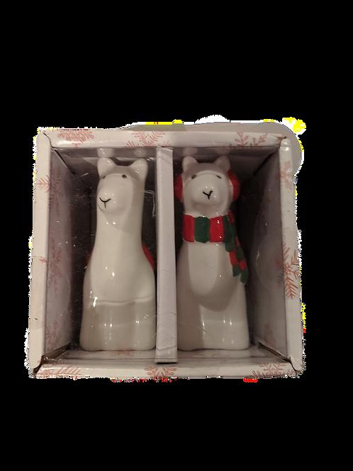 Llama Salt & Pepper Shakers