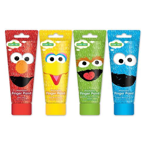 Sesame Street Finger Paint