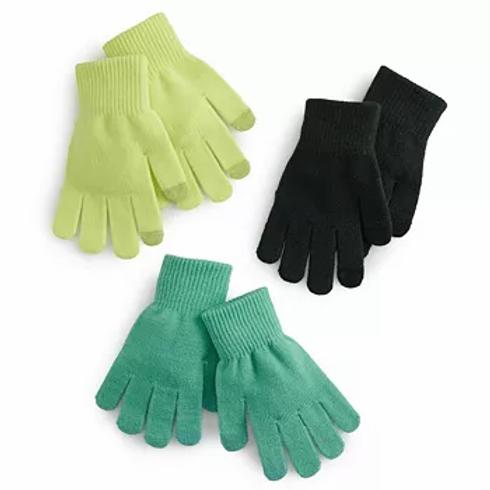 Tech Gloves- 3 Pack