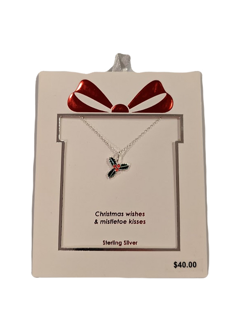Holly Berry Necklace