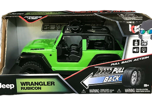 Jeep Pull Back Racer