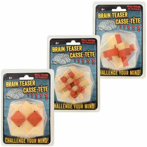 3-D Wood Puzzle