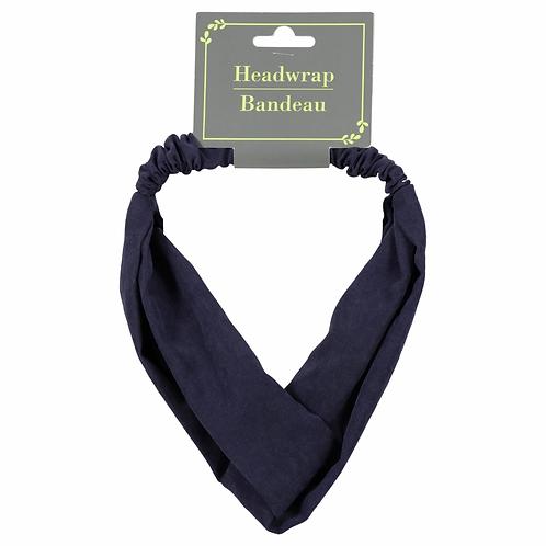 Navy Blue Headwrap