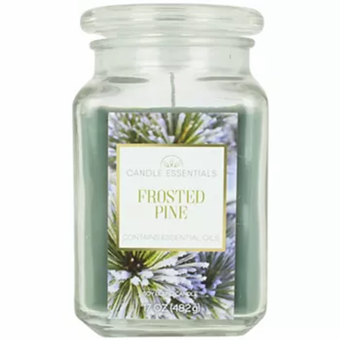 Frosted Pine Large 17 oz. Candle