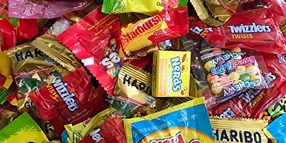 Drive Thru Candy & Costume Parade