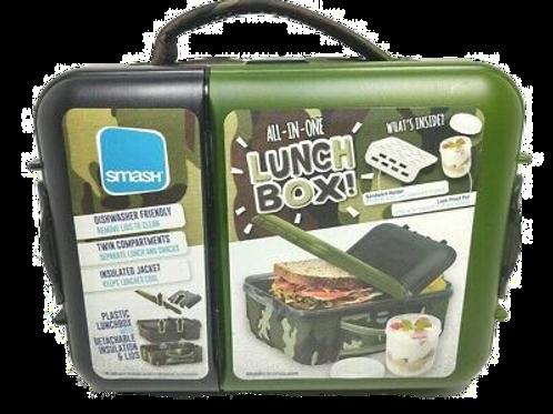 Camo Insulated Lunch Box
