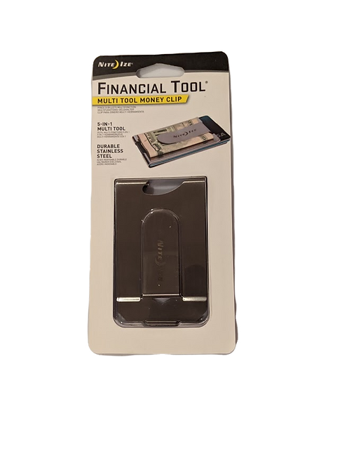 Money Clip Multi Tool