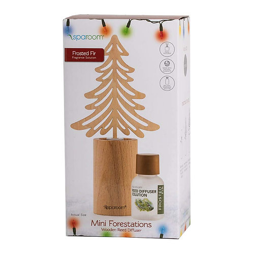 Holiday Oil Diffuser-Frosted Fir