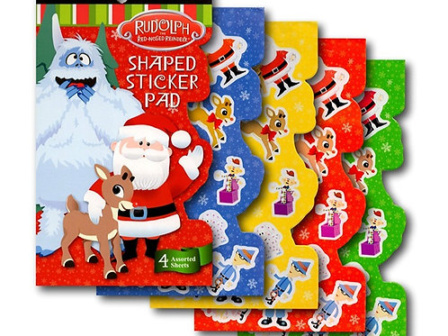 Rudolph The Red Nosed Reindeer Sticker Book
