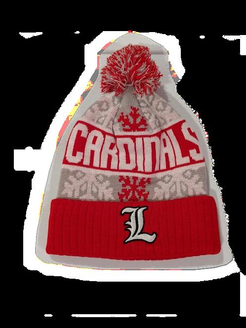 Louisville Cardinals Pompom Beanie