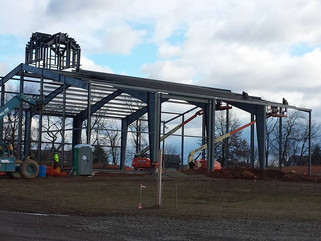 The steel is going up