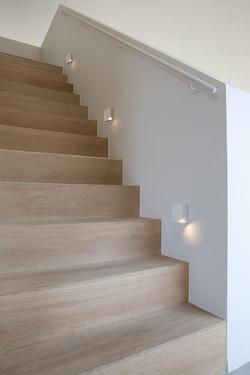 Luminaire mural escalier