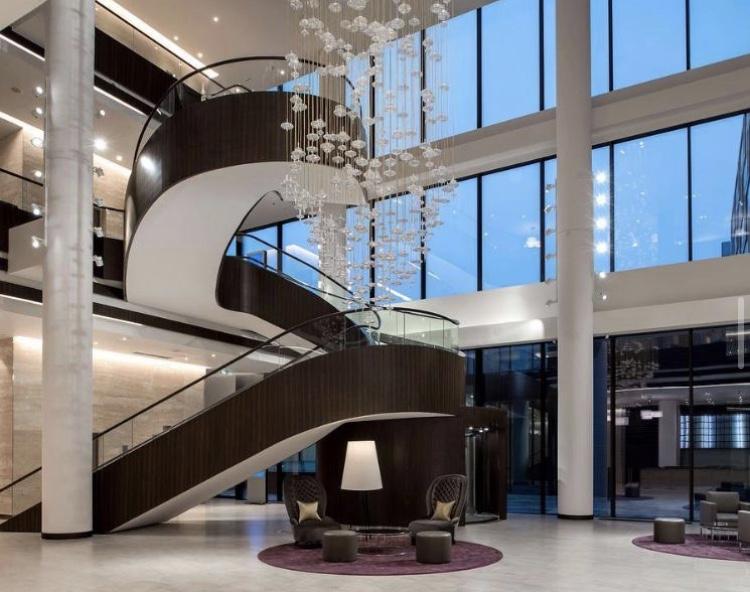 Luminaire suspension d'escalier Melogranoblu