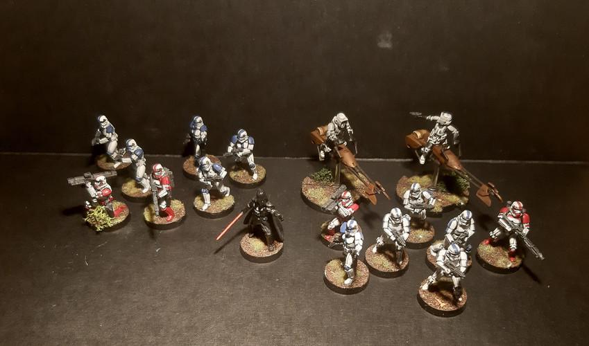 Star Wars Legion Imperials