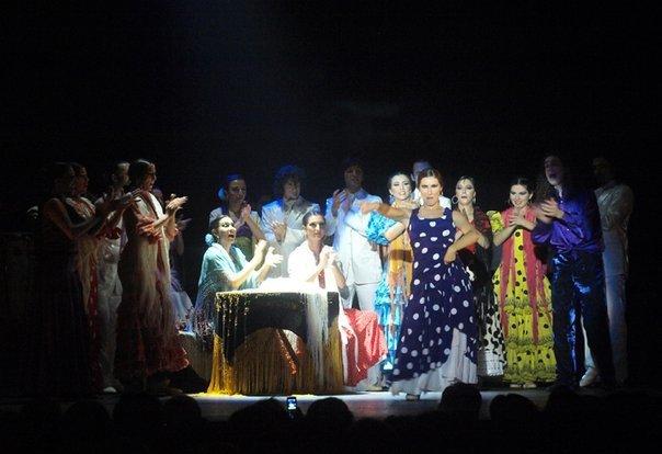 Flamenco Alaturka gösterisi