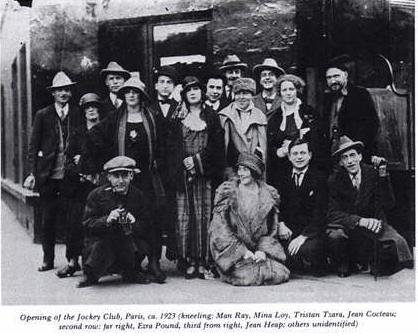 Kayıp Neslin önde gelen bazı yazarları birlikte