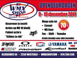 Wmx Shop opendeurdag