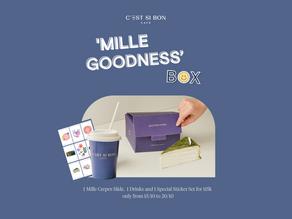 """""""MILLE GOODNESS - NGÀN LỚP TỐT LÀNH""""  - Lời nhắn nhủ 20/10 ngọt ngào C'est Si Bon dành tặng bạn."""