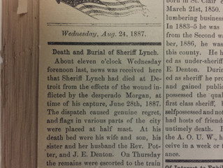 Death and Burial of Sheriff Lynch