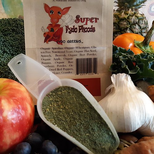 Super Fydo Greens  A Natural Histamine support for Dogs with Allergies