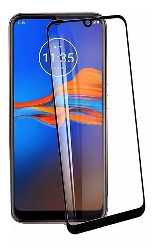 Película de Vidro e Gel 5D (Motorola Moto E6 Plus)