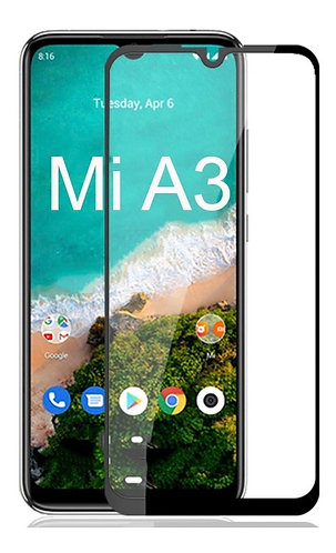 Película de Vidro 5D (Xiaomi Mi A3)