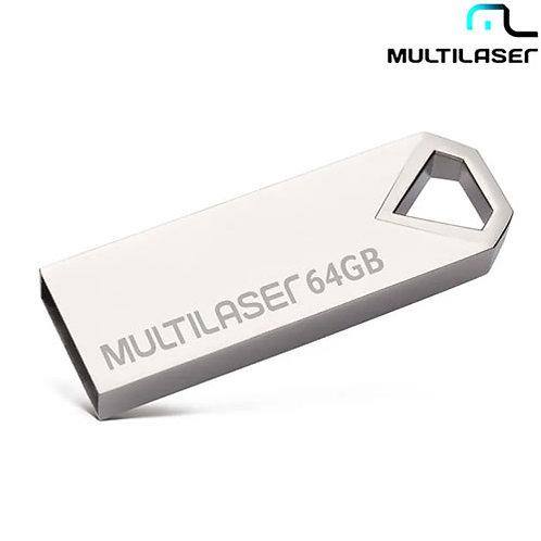 Pen Drive Diamond Metálico 64GB USB 2.0