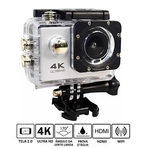 Câmera Esportiva 4K À prova D'água