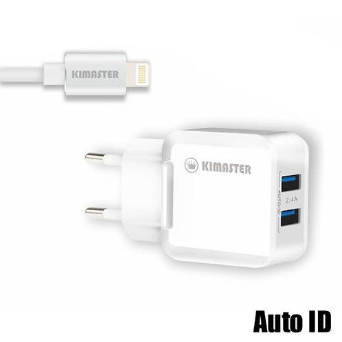 Carregador Universal Lightning (iPhone) 2.4A