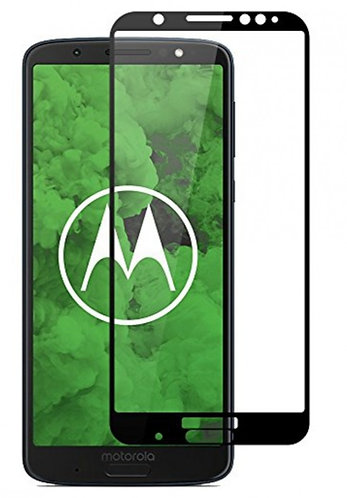 Película de Vidro e Gel 5D (Motorola Moto G6 Plus)