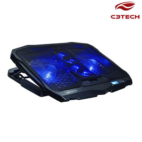Base p/ Notebook Gamer Refrigerada - C3TECH