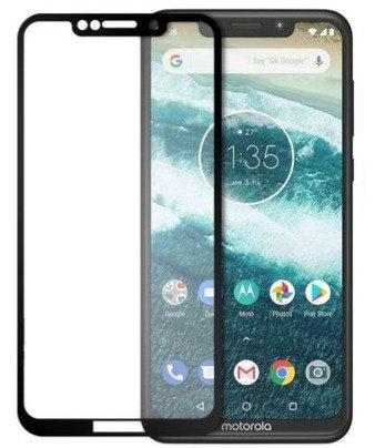 Película de Vidro e Gel 5D (Motorola Moto One)