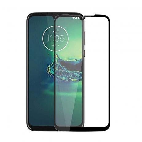 Película de Vidro e Gel 5D (Motorola Moto G8 Play)
