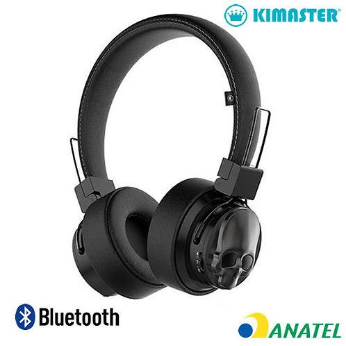 Headphone Bluetooth  Caveira - Kimaster
