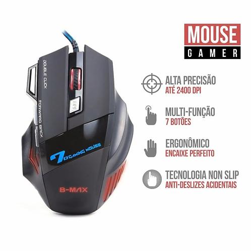 Mouse Gamer Profissional B-max X7