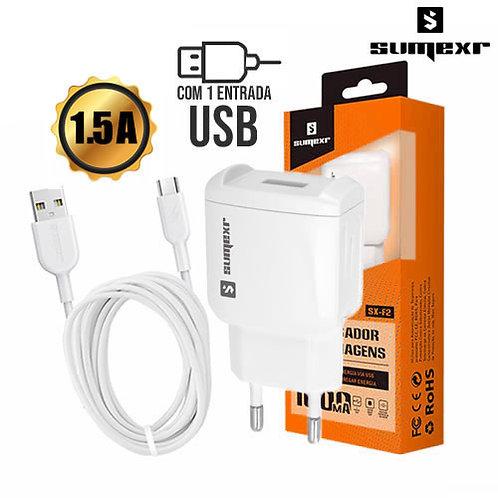 Carregador Universal Micro USB 1.5A