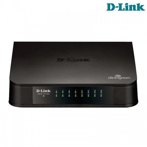 Switch D-Link 16 Portas 10/100 Mbps