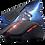 Thumbnail: Mouse Gamer com mouse pad KP-V36