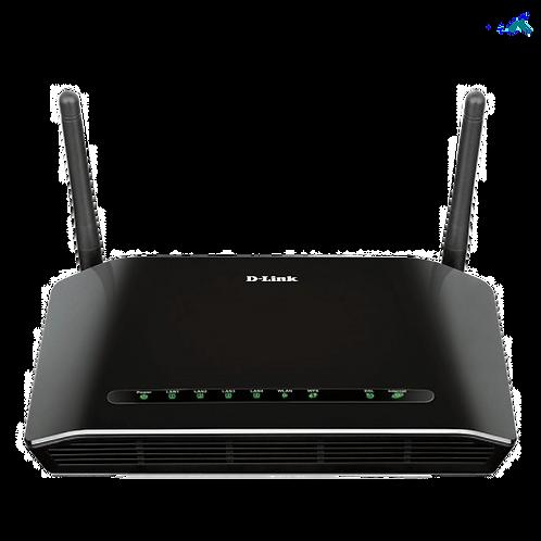 Roteador e Modem ADSL2+ D - Link