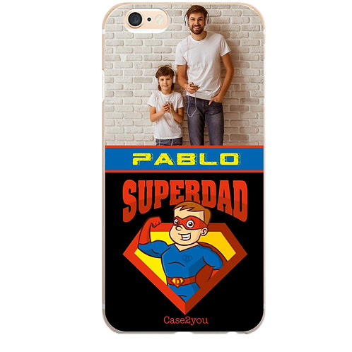 Capa Superdad com Foto e Nome - CS907