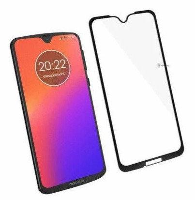 Película de Vidro e Gel 5D (Motorola Moto G7 Plus)