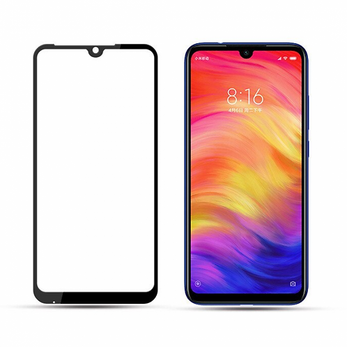 Película de Vidro e Gel 5D (Xiaomi Redmi Note 7/Pro)