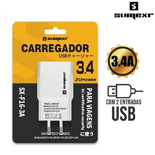 Carregador Universal USB 3.4A