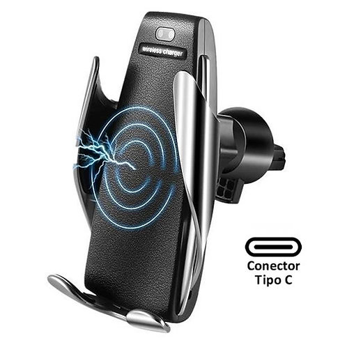 Suporte Veicular  p/ Smartphone com Sensor + Carregador Wireless