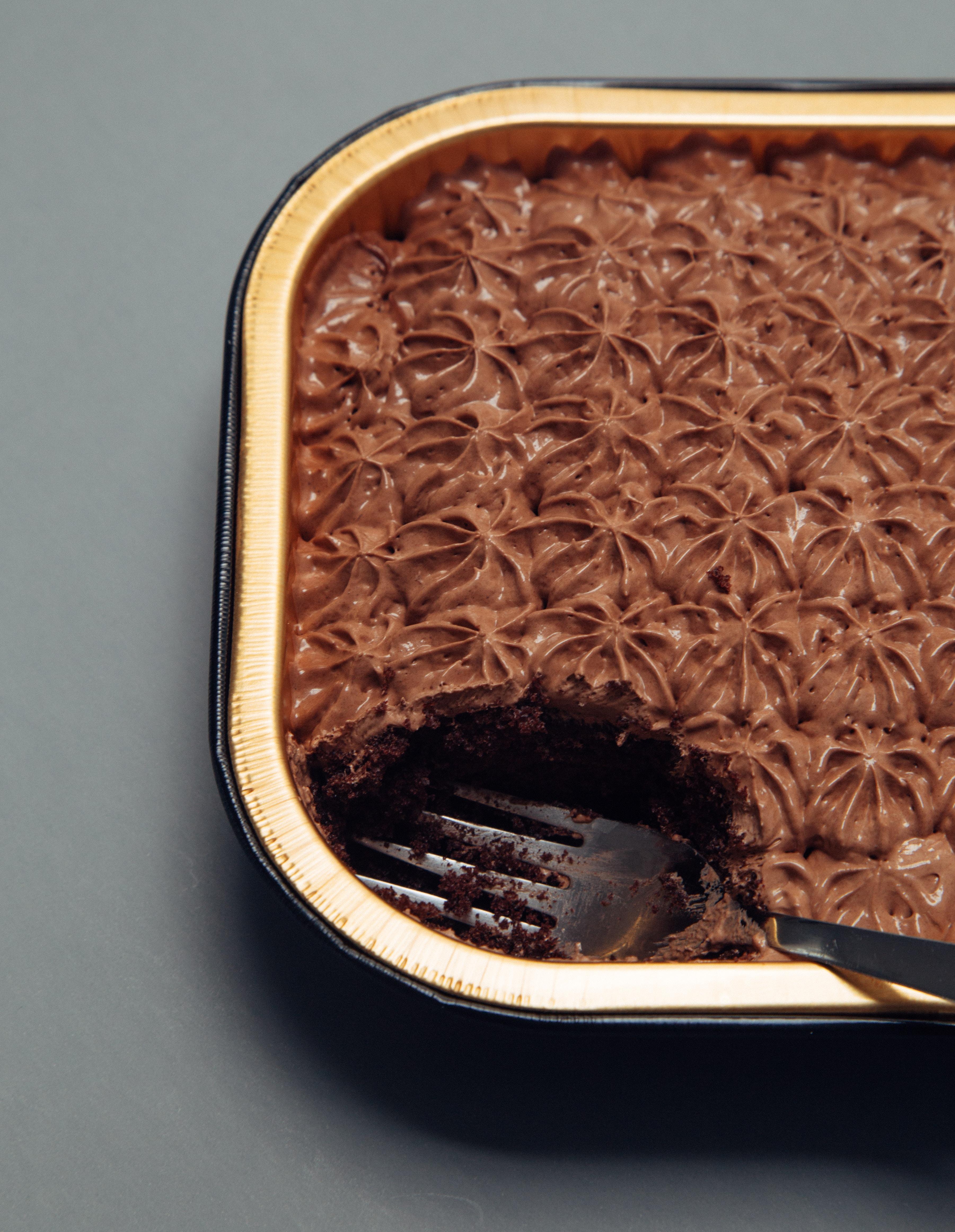 Chocolade mousse cake