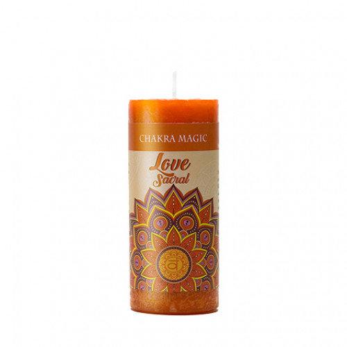 Sacral Chakra Candle - Love 臍輪能量蠟燭