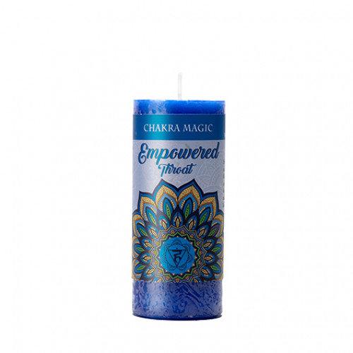 Throat Chakra Candle - Empowered 喉輪能量蠟燭