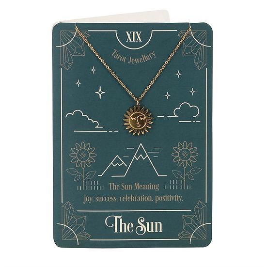The Sun Tarot Necklace 塔羅頸鏈